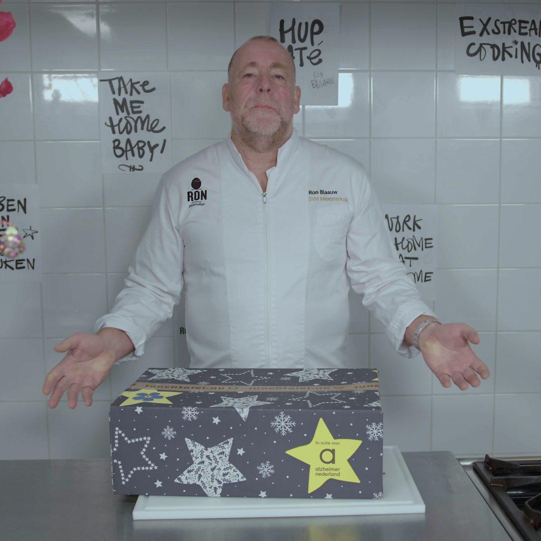 Alzheimer Nederland - Kookbox met Ron Blaauw